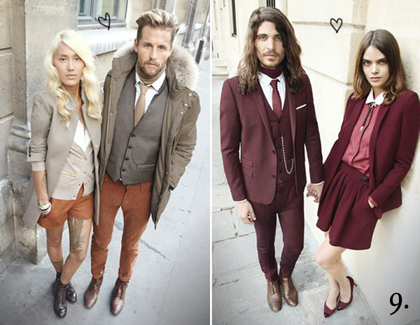 9 stylish couples