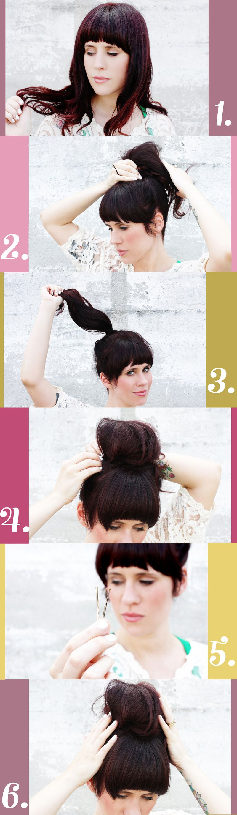 How To Style A Messy Bun A Beautiful Mess