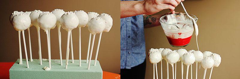 Cake pops step 3