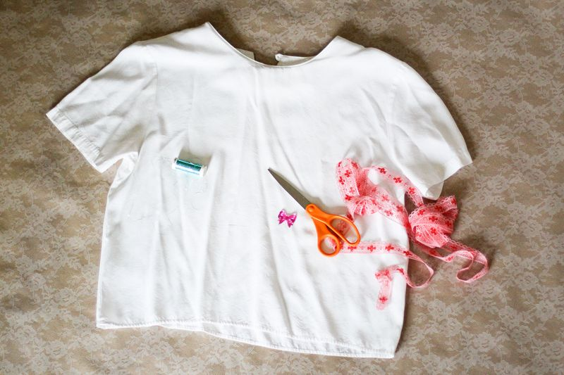 e19856bc27e Crop Top DIY - A Beautiful Mess