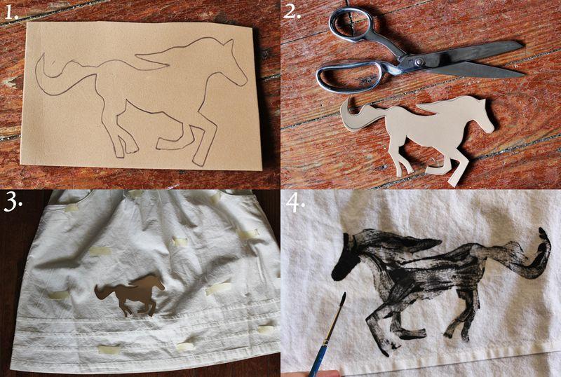 Pony stamp how-to