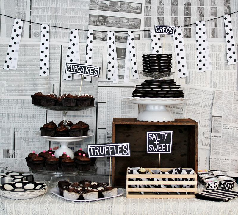 Chocolate themed goodbye party