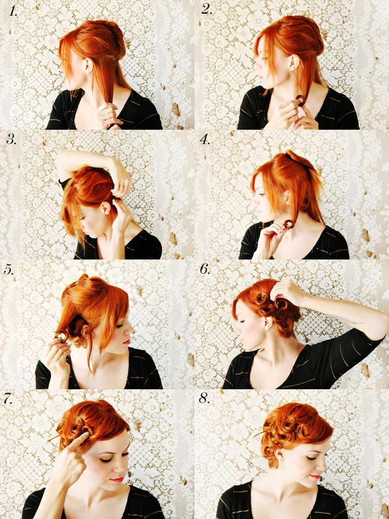 How To Style Pin Curls A Beautiful Mess