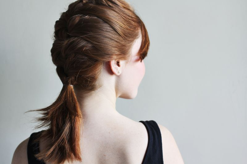 I adore a pretty french braid! It's such a classic hairstyle that can work on many different hair lengths, including locks with layers.