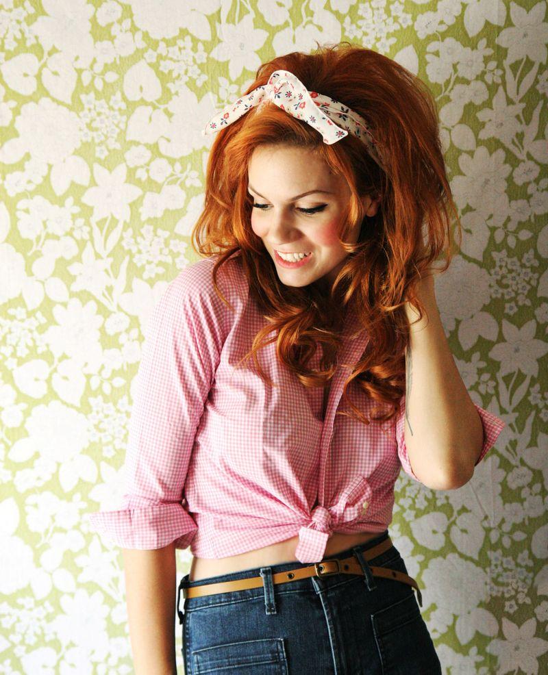 Dolly inspired hair DIY