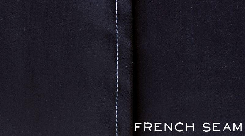 French seam