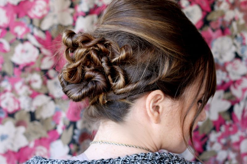How To Style A Twisted Bun