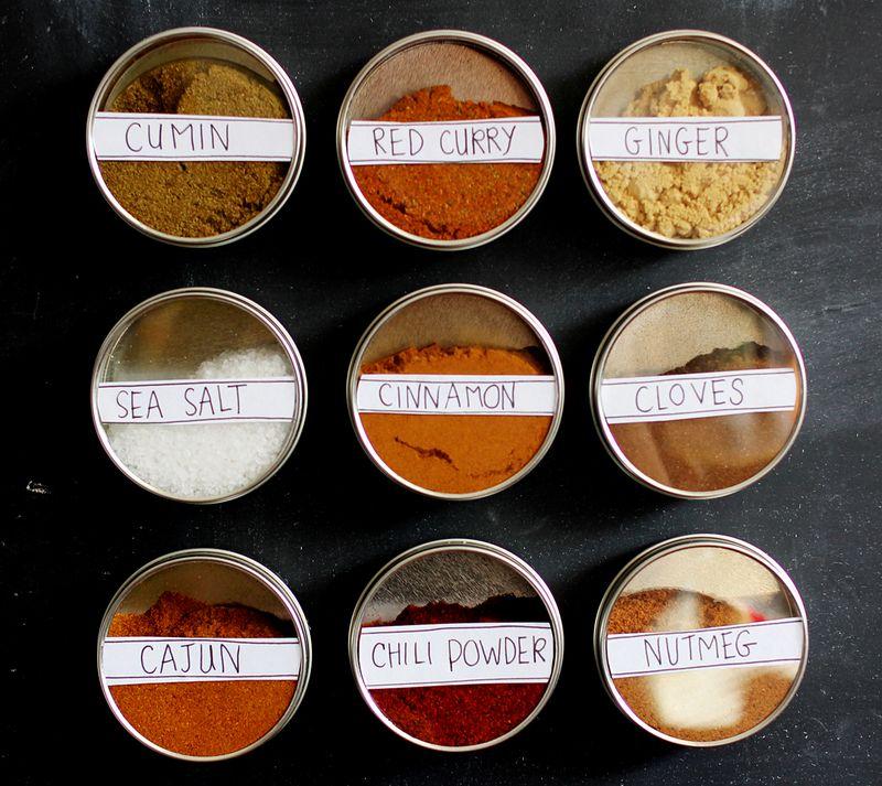 Magentic spice storage 1