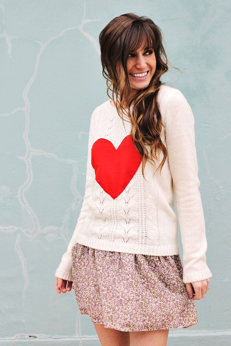 Heart Sweater 1