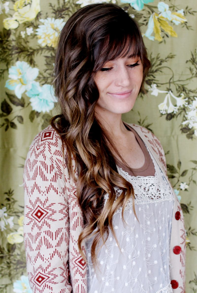 How To Style Beachy Waves A Beautiful Mess