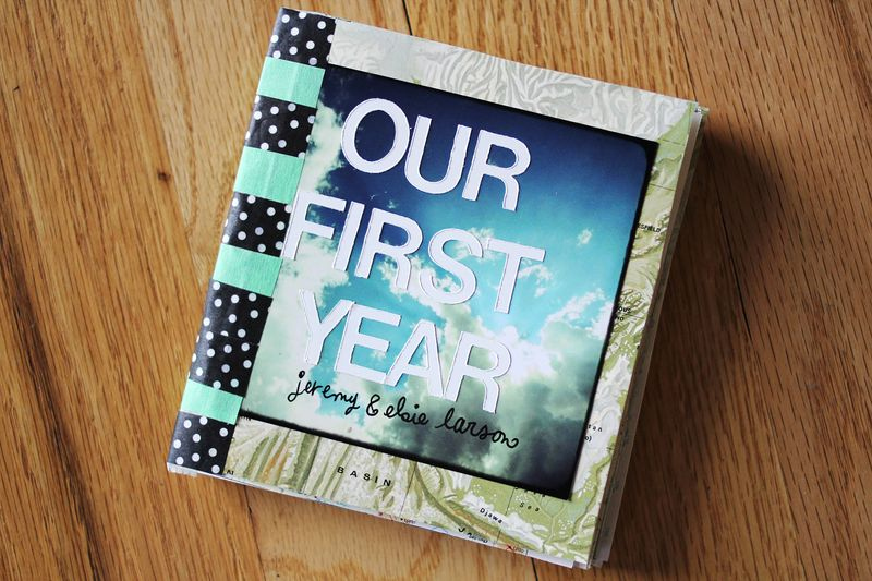 Our First Year: Instagram Scrapbook - A Beautiful Mess