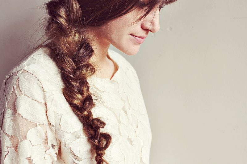 How To Style A Messy Braid A Beautiful Mess