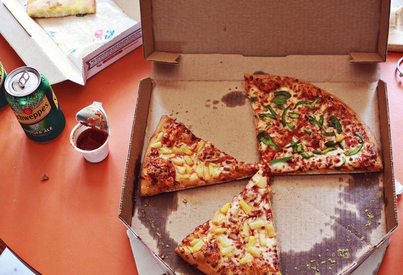 Front door pizza