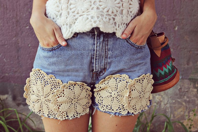 How to make doilie shorts