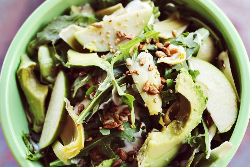Artichoke + Apple Salad