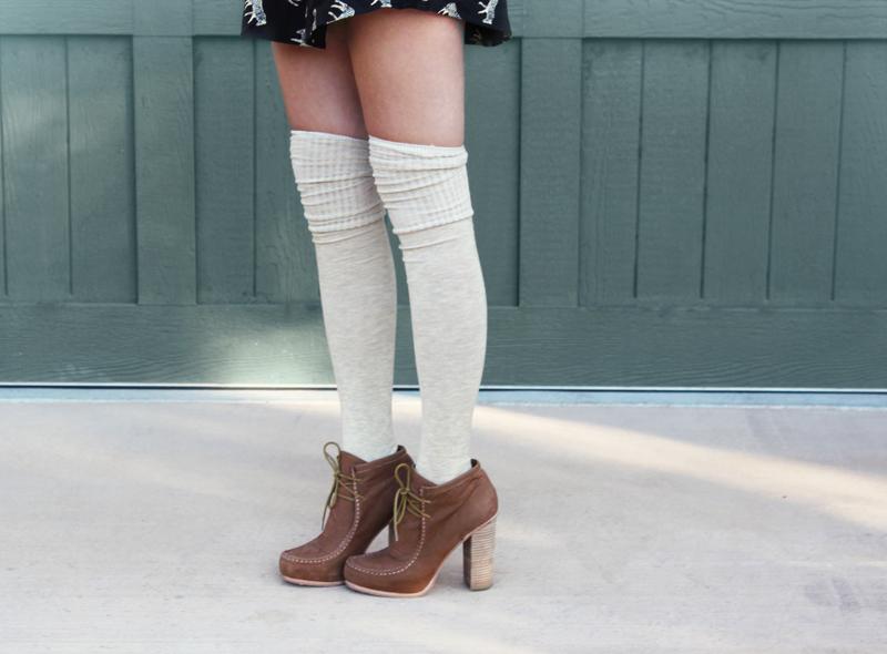 3896d8c60ba 5 Ways to Style Socks! - A Beautiful Mess