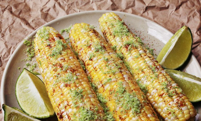 Southwestern corn on the cob