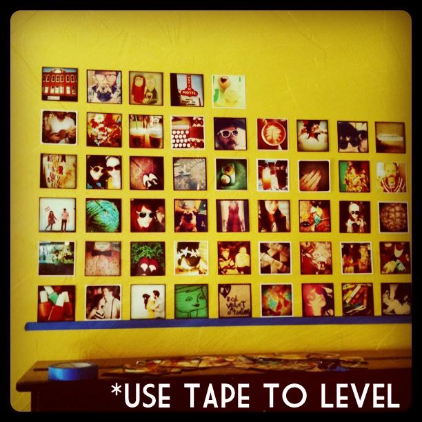 Instagram wall 1