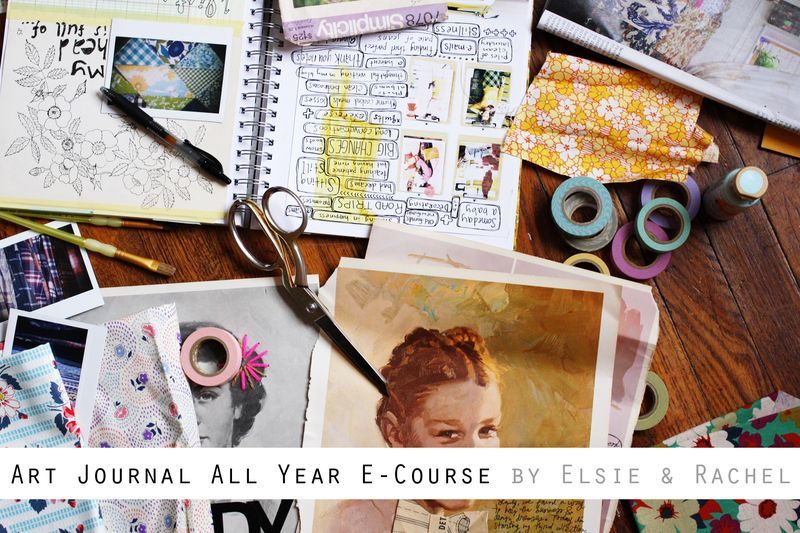Art Journal All Year E-Course