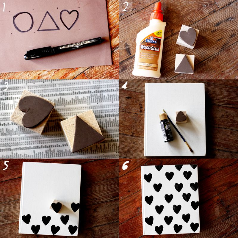 Want To Learn To Make A Foam Stamp A Beautiful Mess