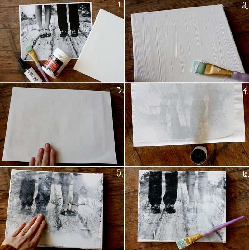 Make Your Own Canvas Portrait A Beautiful Mess