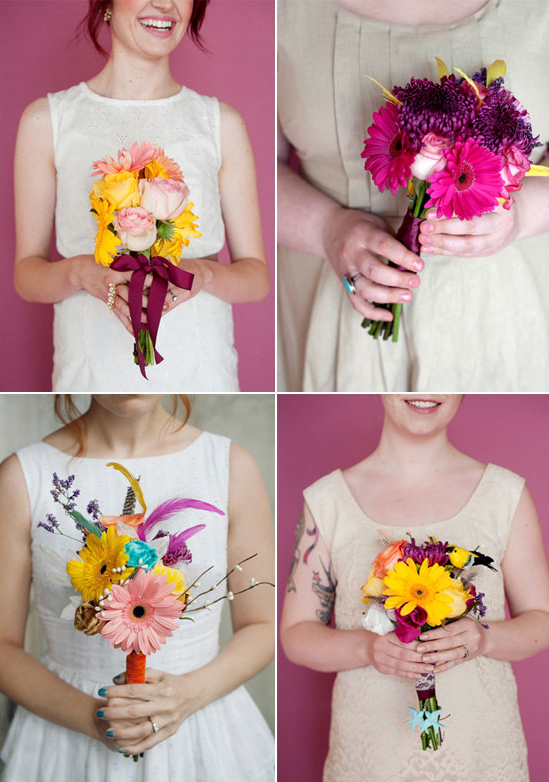 Diy How I Made My Own Wedding Bouquet A Beautiful Mess
