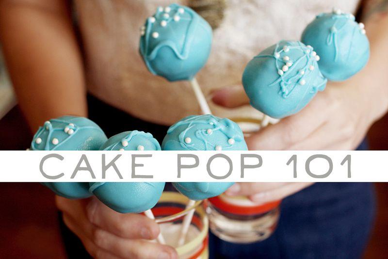Cake pop 101