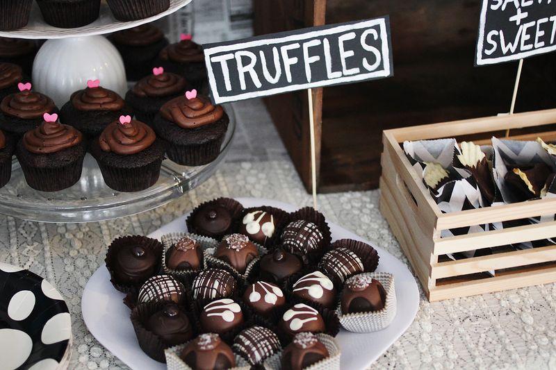 Chocolate table 5