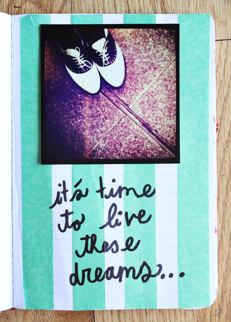 Spring art journal 3