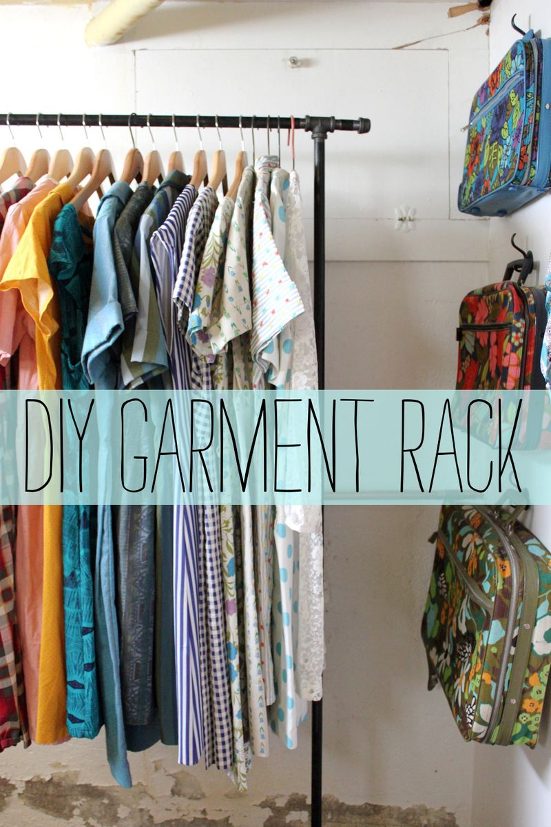 Looking For A Budget Friendly Way To Create Garment Racks Your Home Today Rachel Shares Her D I Y Method