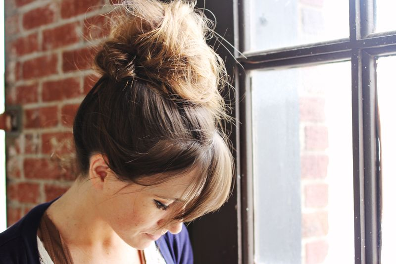 How To Style A Top Knot A Beautiful Mess