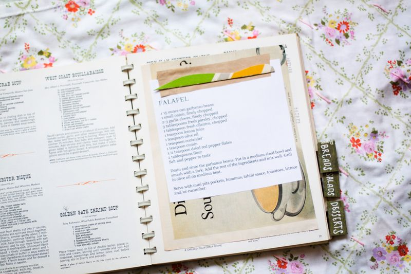 Lovely recipebook
