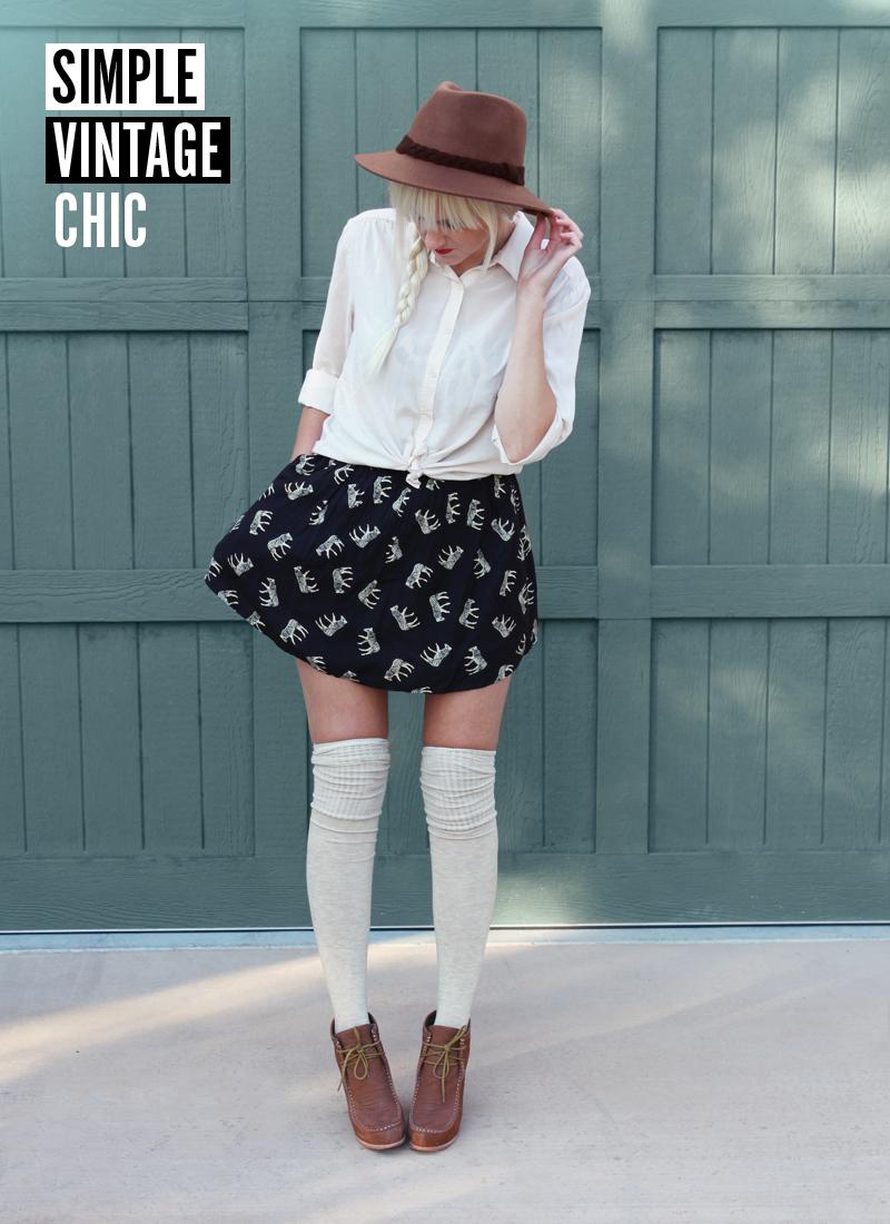 141c970b66d2e 5 Ways to Style Socks! - A Beautiful Mess