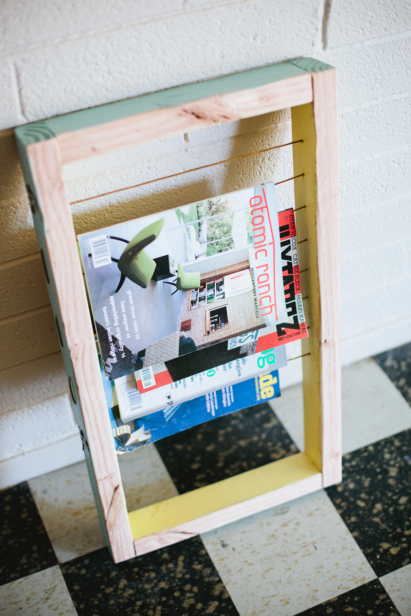 How To Build A Magazine Rack