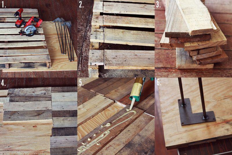 Wood table tutorial