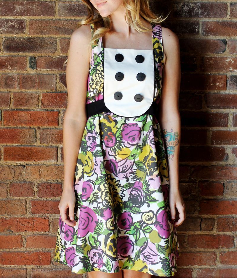 Floral Dress by A Beautiful Mess
