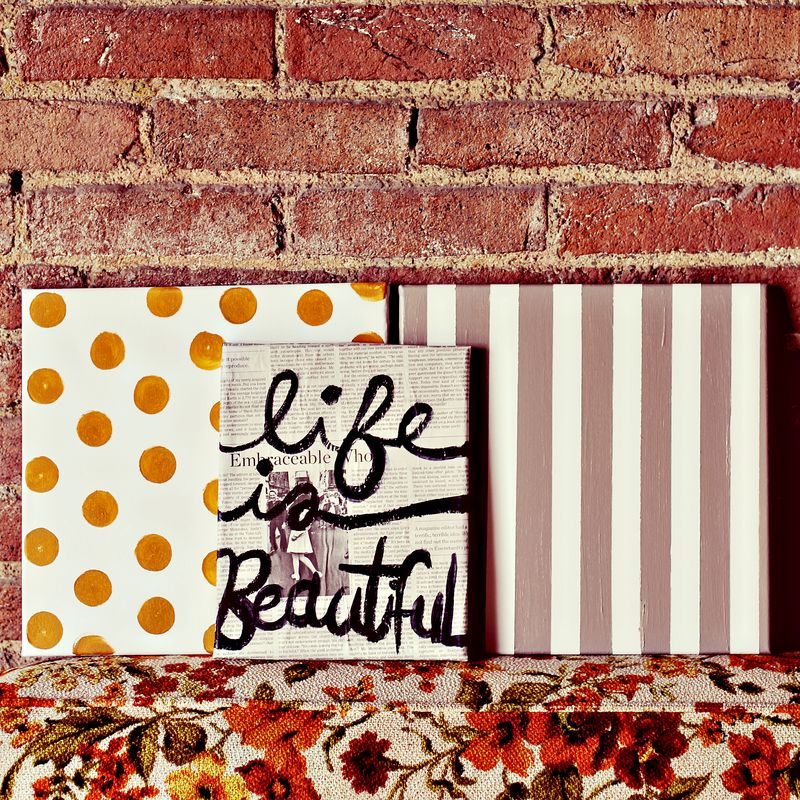 Life Is Beautiful Art Collection