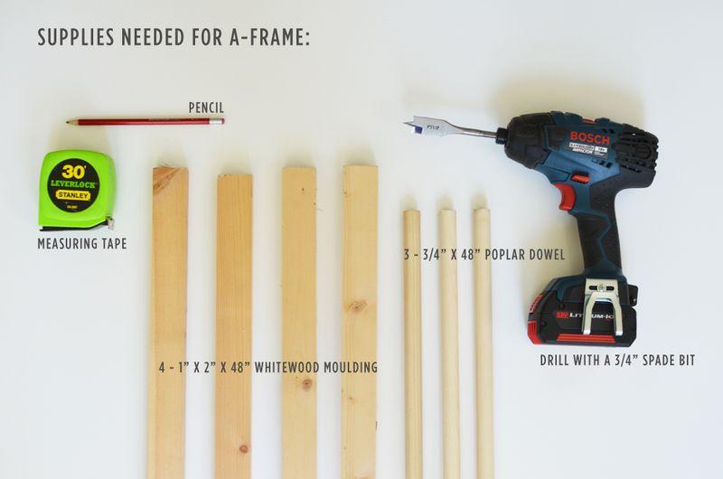 A-Frame Tent Supplies