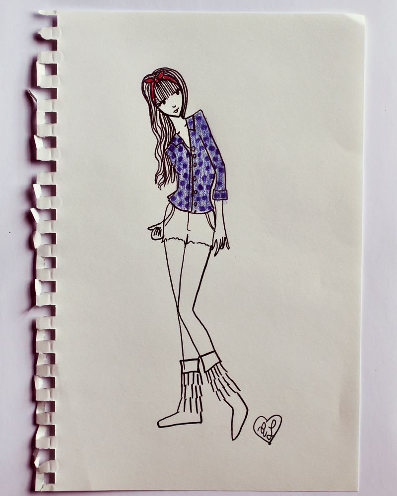 A beautiful mess for modcloth sketches