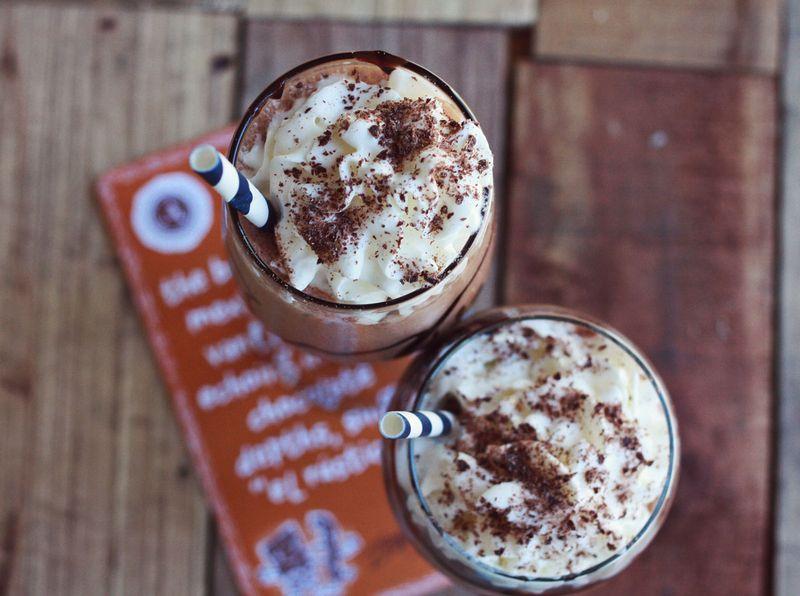 Askinosie chocolate shake