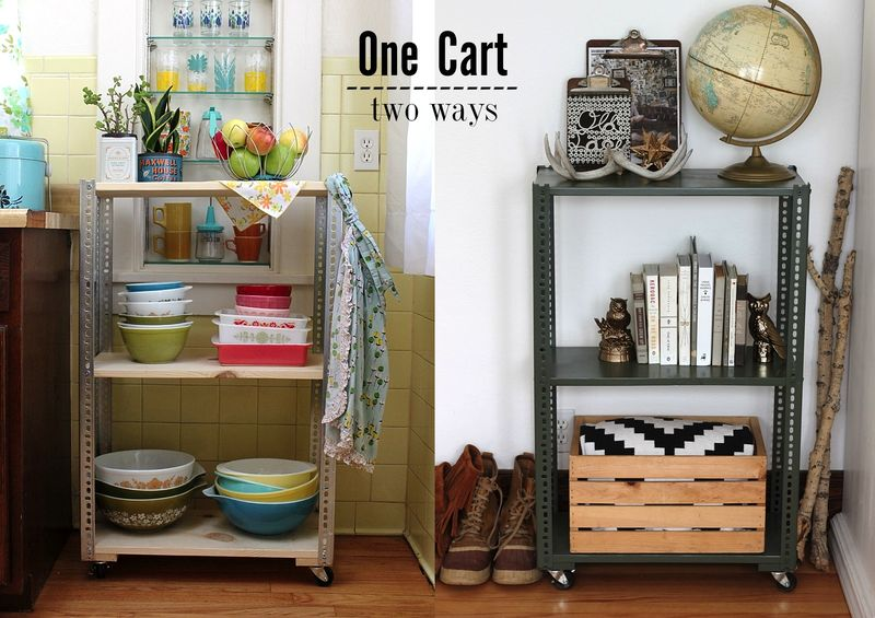 DIY Shelving Unit: 2 Ways