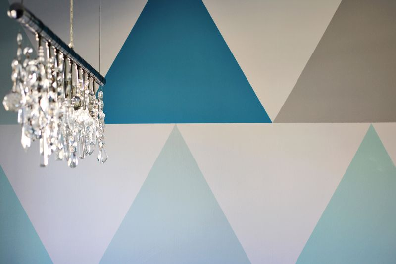 Triangle Statement Wall