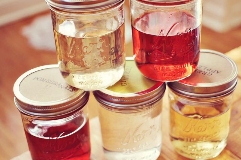Our favorite infused vodkas (via Spiegeling)