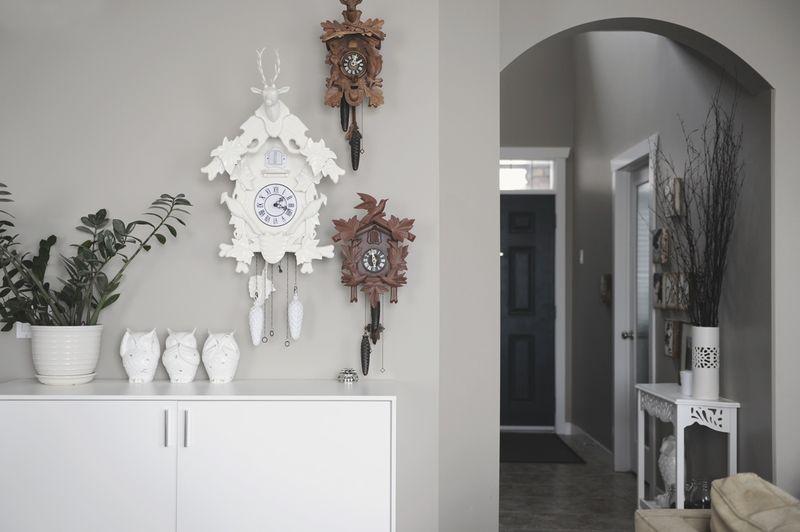 Lovely cuckoo clocks