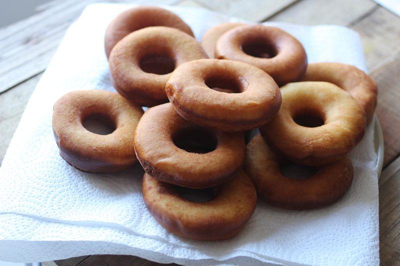 Naked donuts