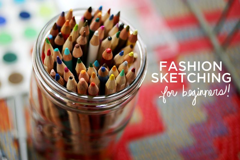 Fashion sketching for beginners!
