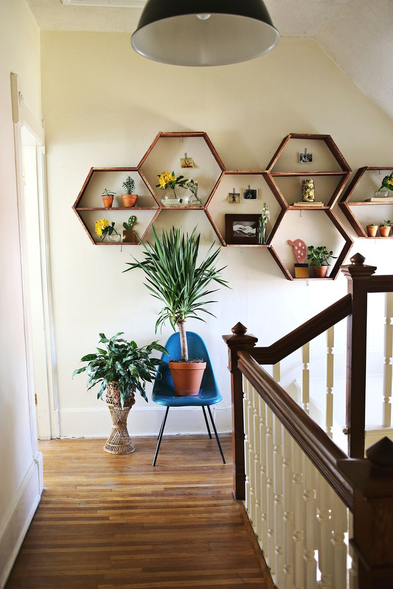 Oh Hey, Honeycomb Shelves