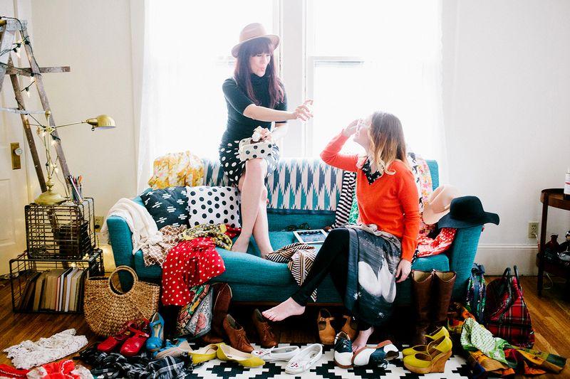 Elsie + Emma of A Beautiful Mess