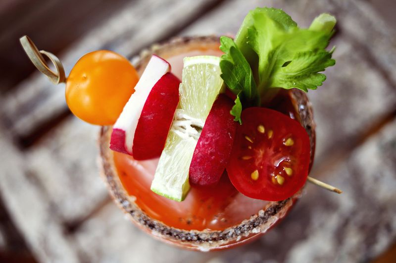 Carrot Juice Bloody Maria