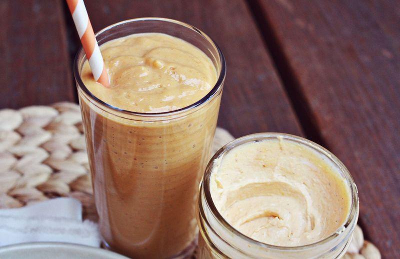 Pumpkin breakfast smoothie